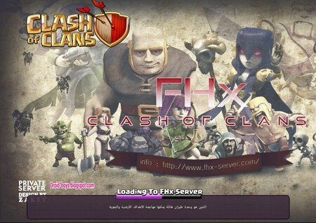 Clash Of Clans MOD APK 7 200 12 كلاش اوف كلانس مهكرة ~ Droid