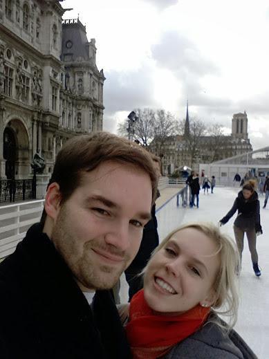 Ice skating Patinoire Hotel de Ville Paris 2015