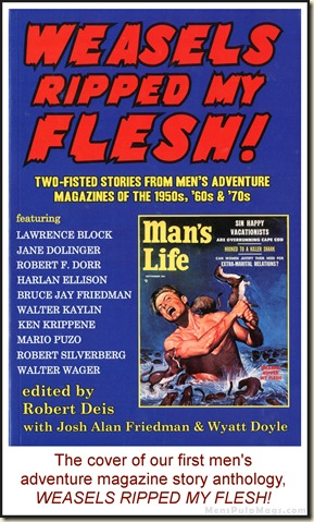 Weasels Ripped My Flesh story anthology