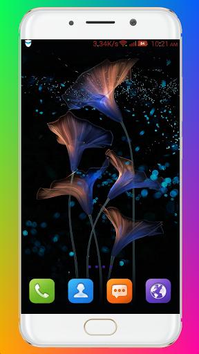 Glowing Wallpaper screenshots 2