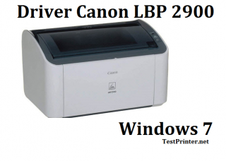 download Canon LBP-2900 for Microsoft Windows 7 64 bit printer's driver