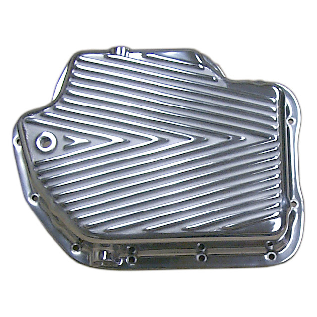 Polished 400 trans pans, stock or deep 295.00.. Shipping 15.00