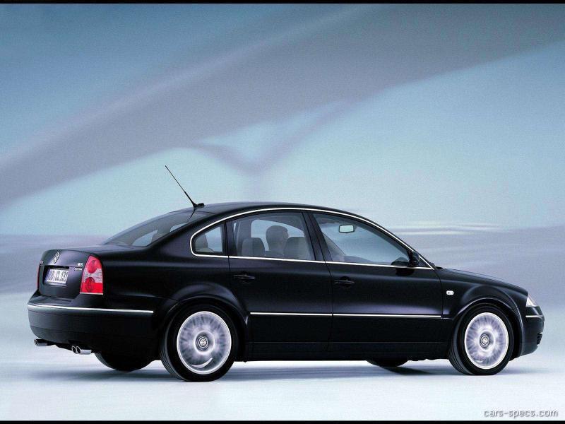 2002 volkswagen passat sedan specifications pictures prices. Black Bedroom Furniture Sets. Home Design Ideas