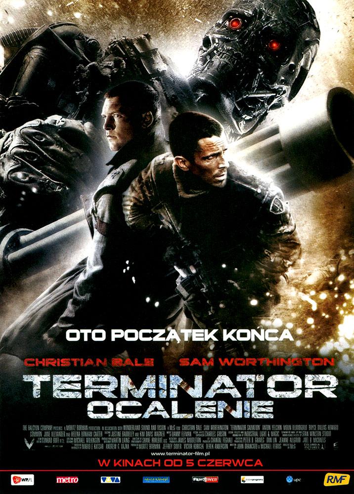 Ulotka filmu 'Terminator: Ocalenie (przód)'