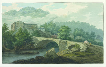 Brathay Bridge by Thomas Farington