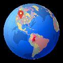 Offline World Map HD - 3D Atlas icon