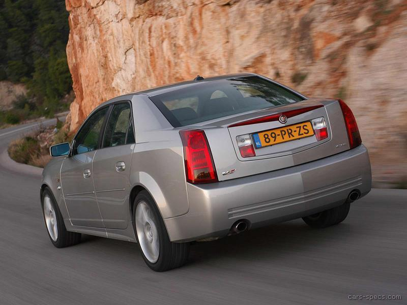 2005 Cadillac Cts V Sedan Specifications Pictures Prices
