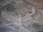 Το Warwick Castle σε τοιχογραφία