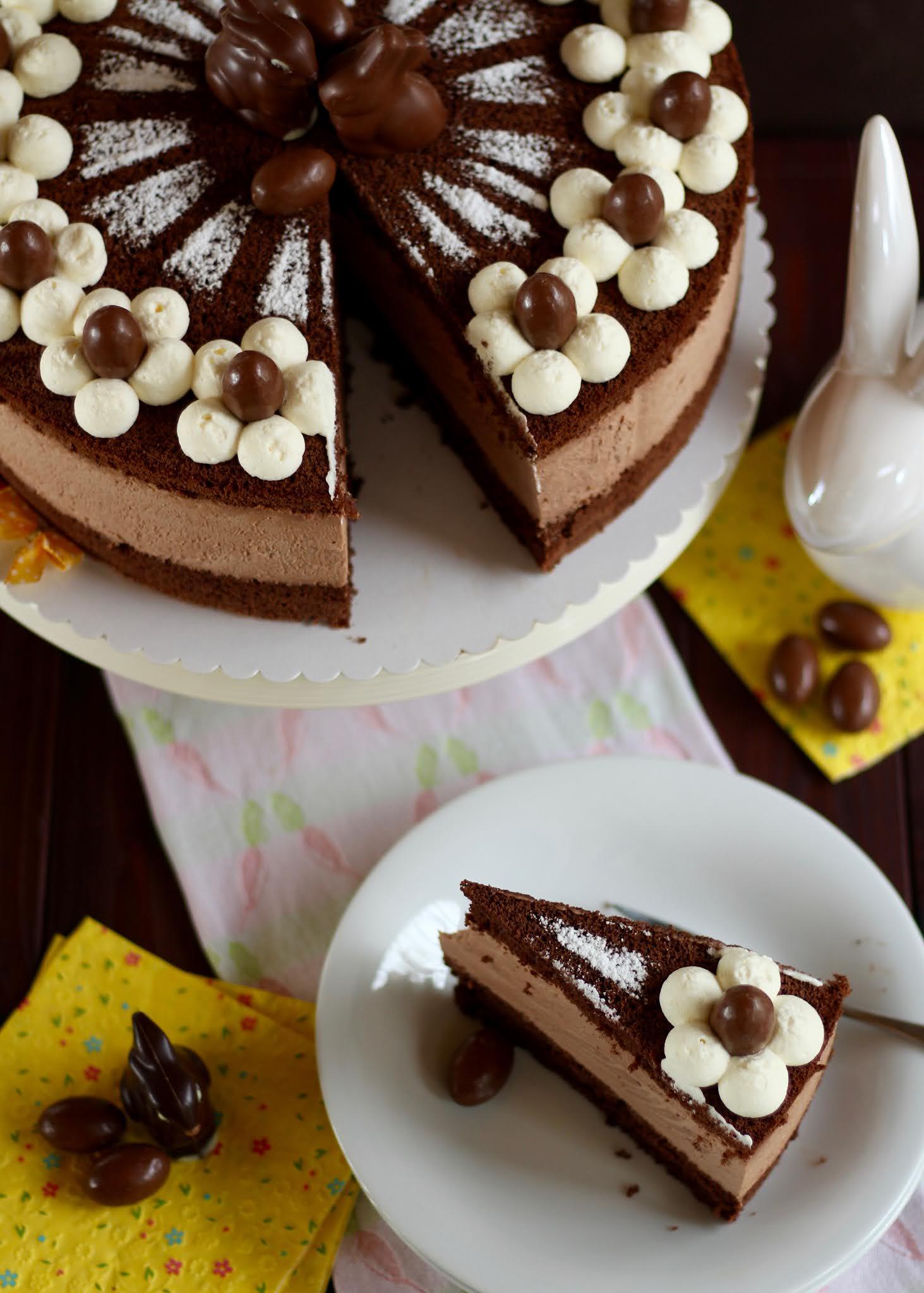 Die beste Schoko-Käse-Sahne-Torte backen! Traumhafte Ostertorte mit viel Schokolade zum 18. Geburtstag! | Rezept und Video von Sugarprincess