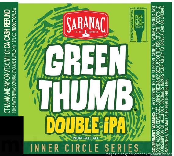 Saranac Inner Circle Series Varick St Breakfast Stout & Green Thumb DIPA