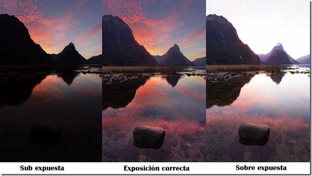 Resultado de imagen para exposicion en fotografia