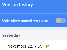 Version History Tool Not Working Properly Google Product Forums