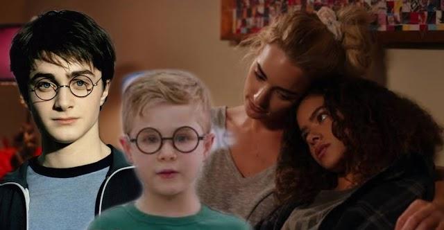 Ginny e Georgia todas as vezes que a série fez referência a Harry Potter