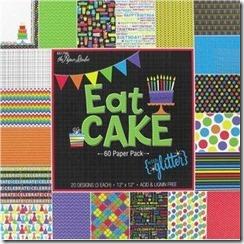 eat cake paper pad