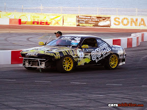 Brad McQueen in the Ouch Tattoo Nissan S14
