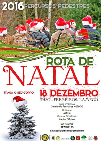 Caminhada em Ferreiros celebra o Natal