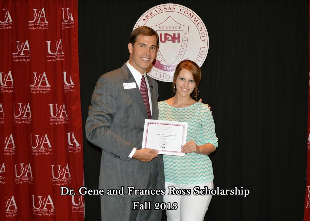 Scholarship Ceremony Fall 2013 - Dr%2BGene%2BRoss%2Bscholarship.jpg