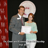 Scholarship Ceremony Fall 2013 - Dr%2BGene%2BRoss%2Bscholarship.jpg