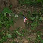 Flag for slaves graves