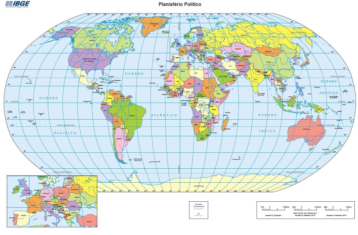suficiente mapa do mundo politico rm74 ivango