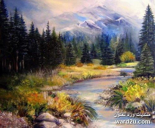 سحر الطبيعة بأنامل مبدعة