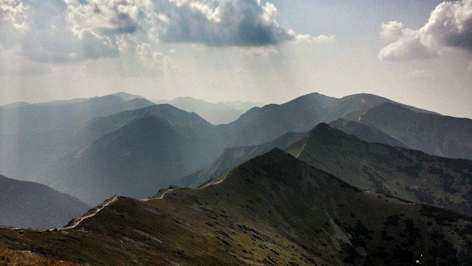 widok za Tatry zachodnie