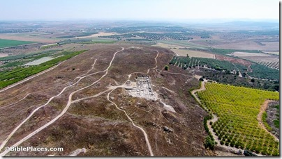 Gezer aerial from west, ws073114058b