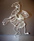 Wire Sculpture by Dario