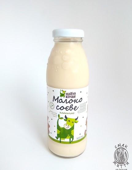 Молоко соєве класичне солодке