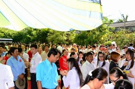 Lễ tri ân và trưởng thành cho học sinh khối 12