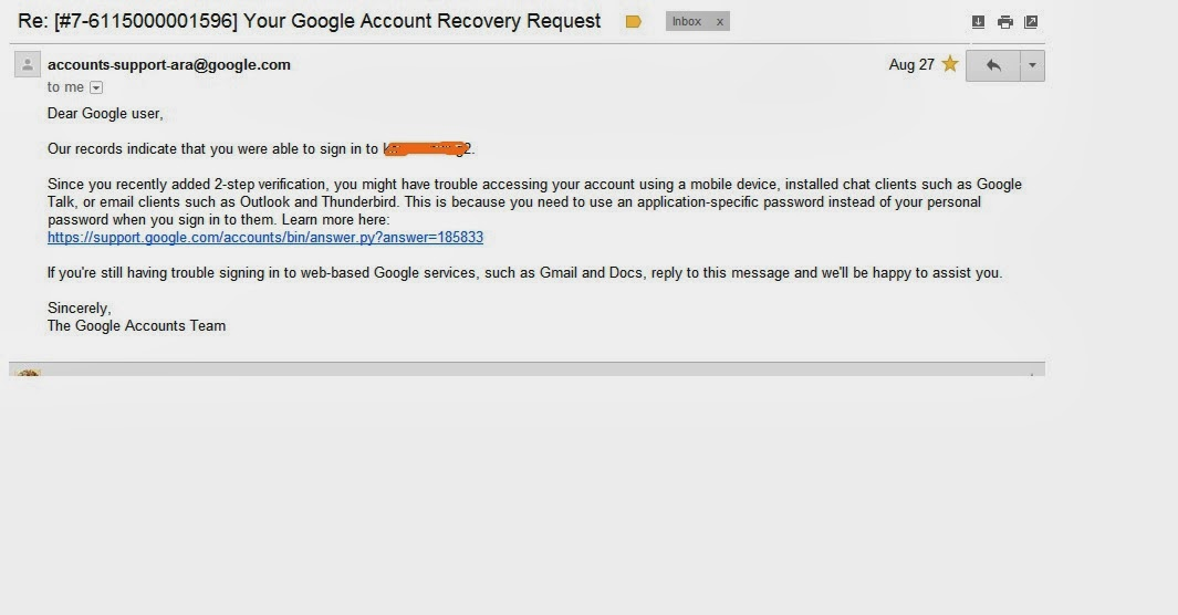 my gmail account is hacked, recovery option is not working ...