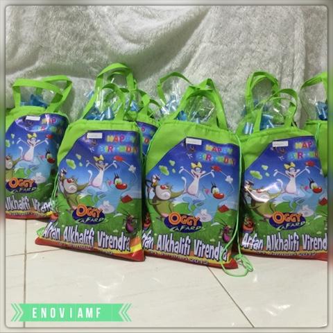 goodie bag customs dan souvenir ulang tahun anak