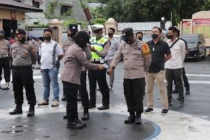 Personil Polres Soppeng di Terjunkan Dalam Rangka Pengamanan Pilkades