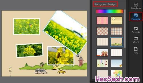 Hình 8 - Hướng dẫn cách sử dụng phần mềm ghép ảnh Fotor