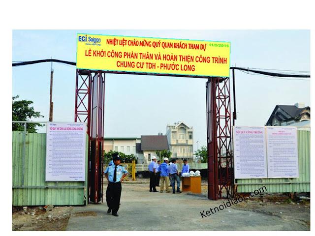 lễ khởi công chung cư TDH Phước Long