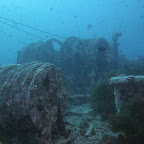 Anchor winches of the Thistlegorm