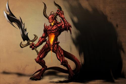 Demon Shield, Death