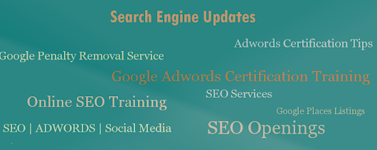 Illıllı Google Search Engine Updates: SEO Tips: SEO Jobs: SEO Training in ChennaiImmediate Opening For Electronic Engineer in MNC ~ Search Engine Tweets