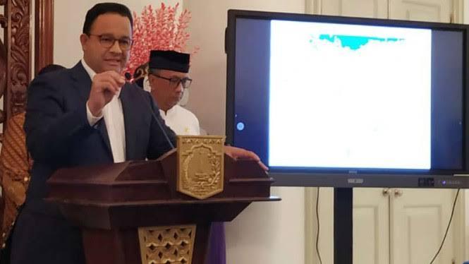 Beda Dengan Jokowi, Anies Buka Data Sebaran Kasus Corona di DKI