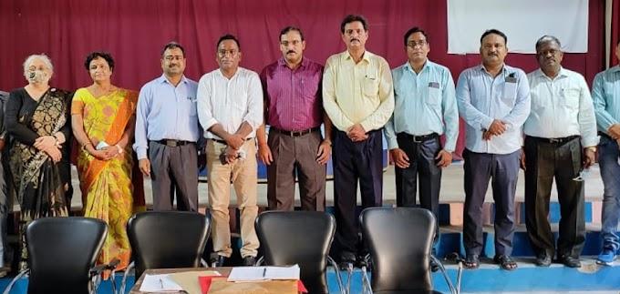 सेंट एंड्रूज महाविद्यालय शिक्षक संघ में डॉ सी पी गुप्ता अध्यक्ष और डॉ सुशील राय महामंत्री चुने गए