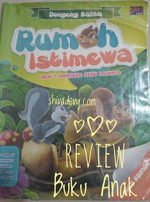 Review Buku Anak: Rumah Istimewa