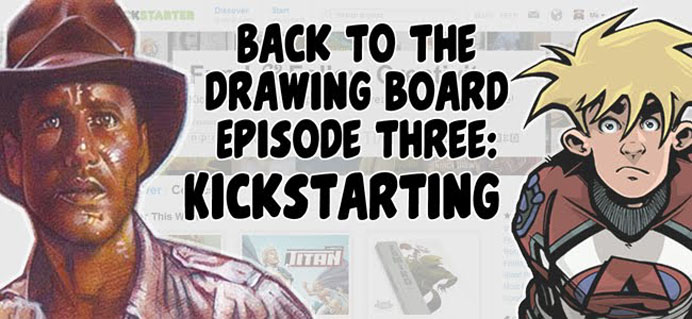 Back To The Drawing Board Podcast, with Jeff Lafferty & Sean Tiffany