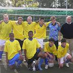 Het winnende 7- tal van het Comenius College uit Leeuwarden