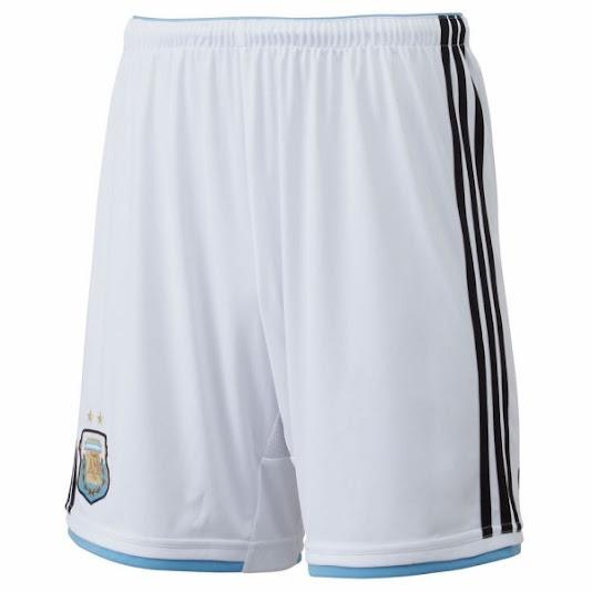 Jual Celana Bola Argentina Home 2014