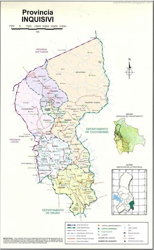 Provincias paceñas