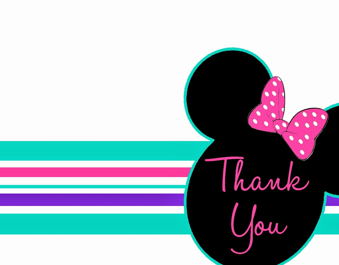 Minnie Mouse Thank You