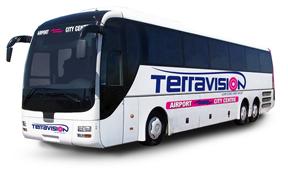 Logo des Busunternehmens TERRAVISION