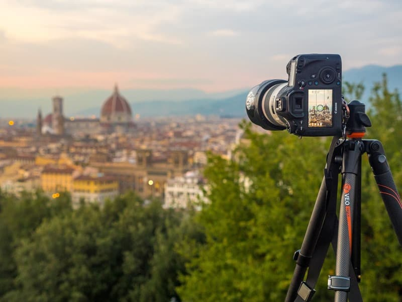 VEO tripod above Florence 3
