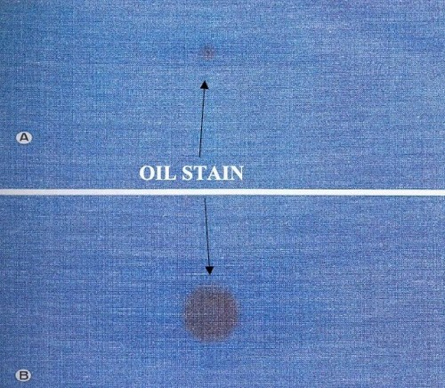 Oil-stain
