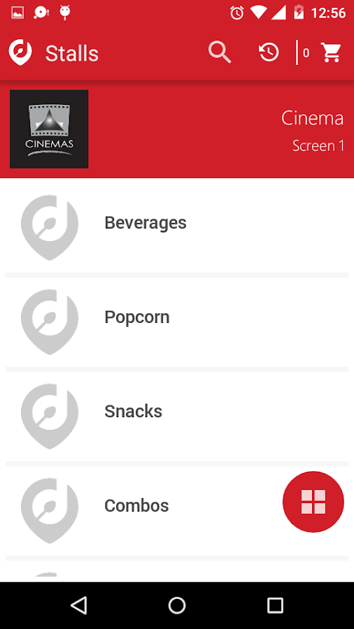 DineSmart- screenshot